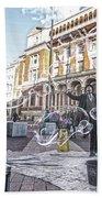 London Bubbles 8 Beach Towel
