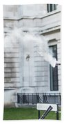 London Explosion 2 Beach Towel
