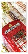 London Telephone 3 Beach Sheet