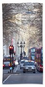 London Thoroughfare Beach Towel
