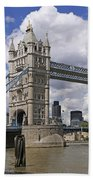 London Towerbridge Beach Towel