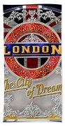 London Town Beach Towel