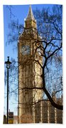 London's Big Ben Beach Towel