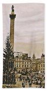 London's Trafalgar Square Beach Towel