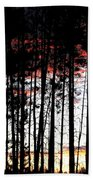 Lone Butte Sunset Beach Towel