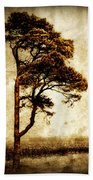 Lone Tree Beach Towel by Julie Hamilton