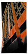 Lonely Balkony Infrared Color 80 Beach Towel