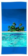 Lonely Island Beach Towel