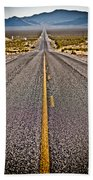 Lonely Road #2 Beach Towel