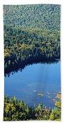 Lonesome Lake - White Mountains New Hampshire Usa Beach Towel