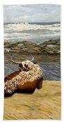 Lonesome Nguni Beach Towel