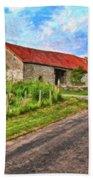Long Barns Near Avincey - P4a16016 Beach Towel