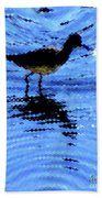Long-billed Diwitcher Beach Towel