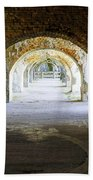 Long Hall At Fort Pickens Beach Towel