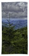 Long Misty Days Beach Towel