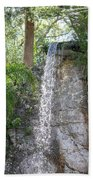 Long Waterfall Drop Beach Towel