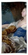 Loo, Louis-michel Van Tolon, 1707 - Paris, 1771 Diana In A Landscape 1739 Beach Towel