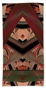 Look Within - Abstract Beach Towel