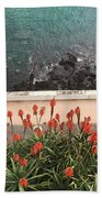 Looking Down, Angra Do Heroismo, Terceira Island Of Portugal Beach Towel by Kelly Hazel