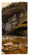 Looking Glass Falls Pisgah National Forest 2 Beach Towel