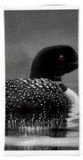 Loon Morning Beach Towel