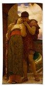 Lord Frederic Leighton - Wedded Beach Towel
