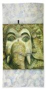 Lord Ganesha Beach Towel