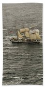 Lord Nelson Enters Sydney Harbour Beach Towel