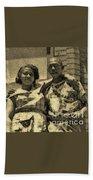 Lorenzo  Madgie And Angela Beach Towel