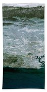 Los Angeles, Radar Image Beach Towel by NASA / Science Source
