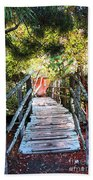 Lost Bridge Beach Towel