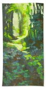 Lothlorian Wood Beach Towel