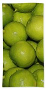 Lots Of Limes Beach Towel