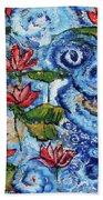 Lotus Cloud Sea 201759 Beach Towel