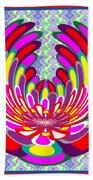 Lotus Flower Stunning Colors Abstract  Artistic Presentation By Navinjoshi Beach Towel