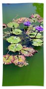 Lotus Flowers #4 Beach Towel