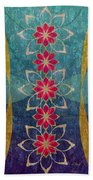 Lotus Garden Beach Towel