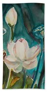 Lotus Study I Beach Towel