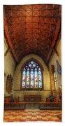 Loughborough Church - Altar Vertorama Beach Towel