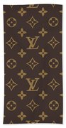 Louis Vuitton Texture Beach Sheet
