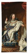 Louis Xv Of France As A Child Beach Towel