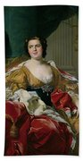 Louise-elisabeth Of France, Wife Of The Infante Philip, Future Duke Of Parma Beach Towel