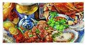 Louisiana 4 Seasons Beach Sheet