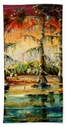 Louisiana Swamp Beach Towel