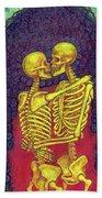 Love And Death Beach Towel