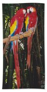 Love Birds Beach Towel