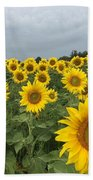Love My Sunflowers Beach Towel
