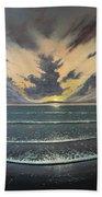 Love Over Gold Beach Towel