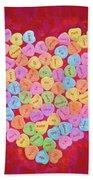 Love Songs 3 Beach Towel