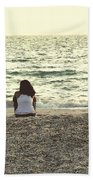 Lovebirds Beach Towel